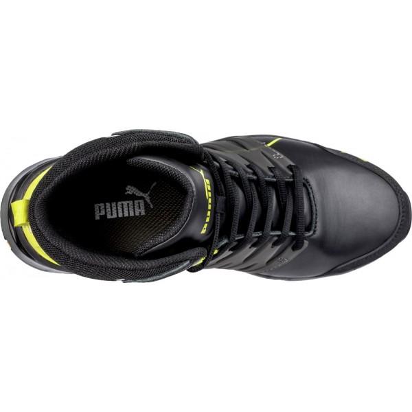633880 Velocity 2.0 YELLOW MID     Chaussure de sécurité Haute Puma S3