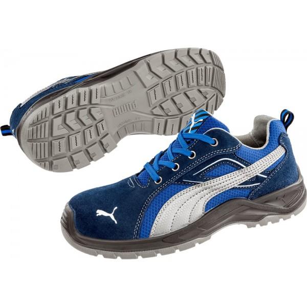 643610 Omni BLUE LOW   Chaussure de sécurité Basse Puma S1P