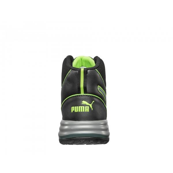 635500 RAPID GREEN MID     Chaussure de sécurité Haute Puma S3