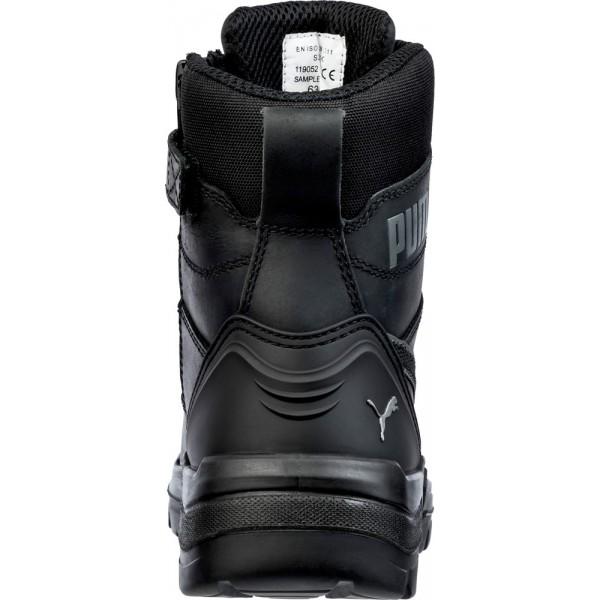 630730 Conquest BLACK CTX  Chaussure de sécurité Haute Puma S3